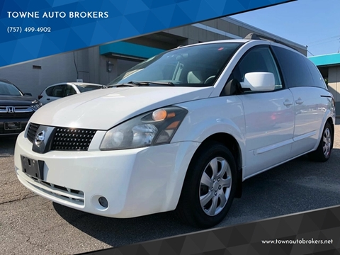 2005 Nissan Quest for sale at TOWNE AUTO BROKERS in Virginia Beach VA