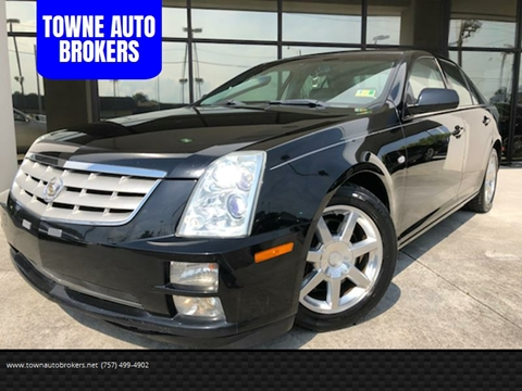 2005 Cadillac STS for sale at TOWNE AUTO BROKERS in Virginia Beach VA