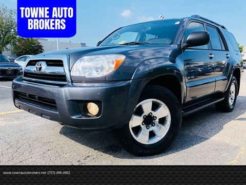 2006 Toyota 4Runner for sale at TOWNE AUTO BROKERS in Virginia Beach VA