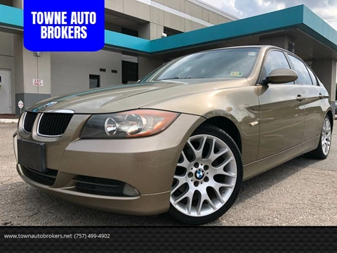 2006 BMW 3 Series for sale at TOWNE AUTO BROKERS in Virginia Beach VA