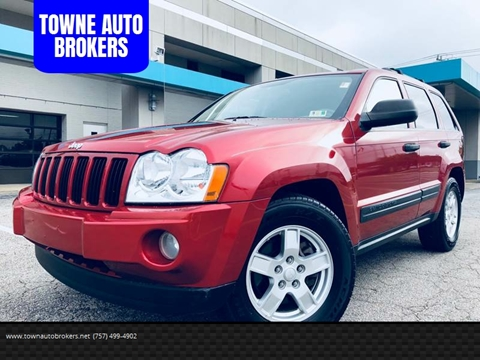 2005 Jeep Grand Cherokee for sale at TOWNE AUTO BROKERS in Virginia Beach VA