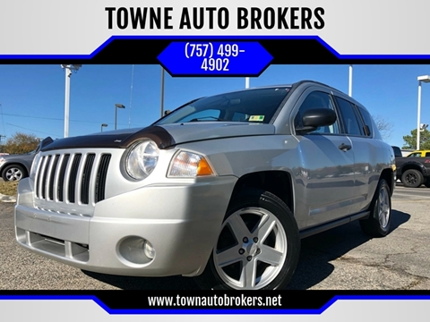 2007 Jeep Compass for sale at TOWNE AUTO BROKERS in Virginia Beach VA