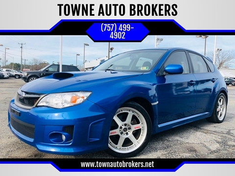 2013 Subaru Impreza for sale at TOWNE AUTO BROKERS in Virginia Beach VA