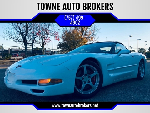 2000 Chevrolet Corvette for sale at TOWNE AUTO BROKERS in Virginia Beach VA