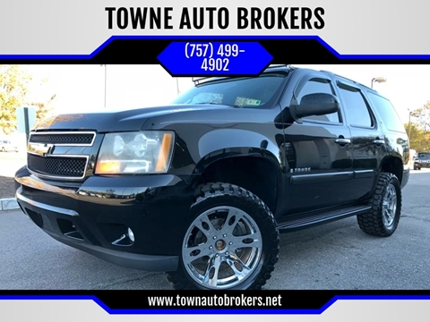 2007 Chevrolet Tahoe for sale at TOWNE AUTO BROKERS in Virginia Beach VA