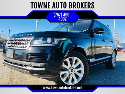 2014 Land Rover Range Rover for sale at TOWNE AUTO BROKERS in Virginia Beach VA
