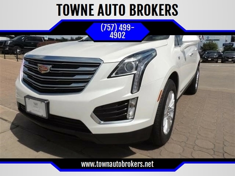 2017 Cadillac XT5 for sale at TOWNE AUTO BROKERS in Virginia Beach VA