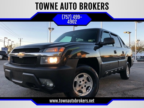 2005 Chevrolet Avalanche for sale at TOWNE AUTO BROKERS in Virginia Beach VA