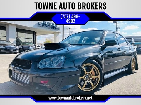 2004 Subaru Impreza for sale at TOWNE AUTO BROKERS in Virginia Beach VA