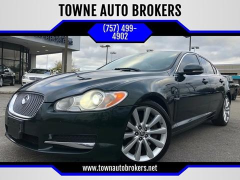 2011 Jaguar XF for sale at TOWNE AUTO BROKERS in Virginia Beach VA