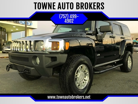 2007 HUMMER H3 for sale at TOWNE AUTO BROKERS in Virginia Beach VA