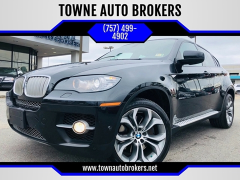 2012 BMW X6 for sale at TOWNE AUTO BROKERS in Virginia Beach VA