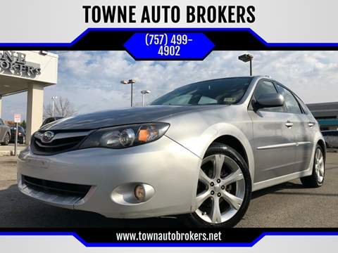 2010 Subaru Impreza for sale at TOWNE AUTO BROKERS in Virginia Beach VA