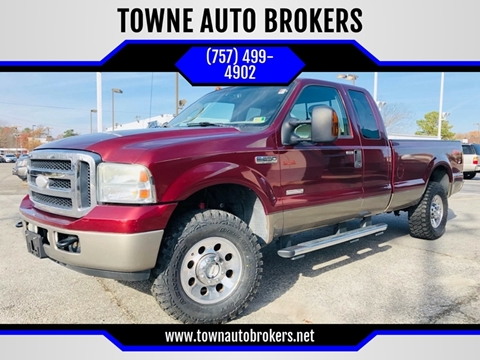 2006 Ford F-250 Super Duty for sale at TOWNE AUTO BROKERS in Virginia Beach VA