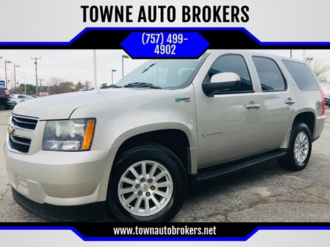 2009 Chevrolet Tahoe for sale at TOWNE AUTO BROKERS in Virginia Beach VA