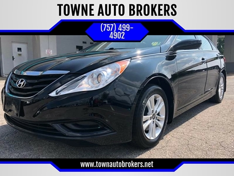 2012 Hyundai Sonata for sale at TOWNE AUTO BROKERS in Virginia Beach VA