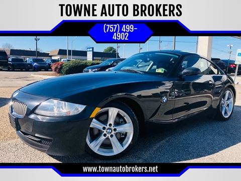 2007 BMW Z4 for sale at TOWNE AUTO BROKERS in Virginia Beach VA