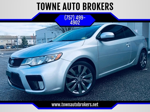 2012 Kia Forte Koup for sale at TOWNE AUTO BROKERS in Virginia Beach VA