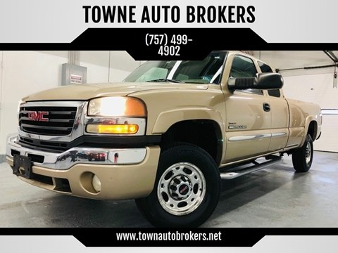 2004 GMC Sierra 2500HD for sale in Virginia Beach, VA