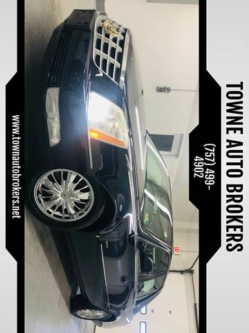 2007 Cadillac DTS for sale at TOWNE AUTO BROKERS in Virginia Beach VA