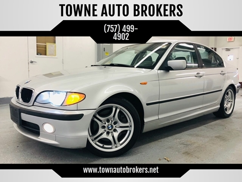 2003 BMW 3 Series for sale at TOWNE AUTO BROKERS in Virginia Beach VA