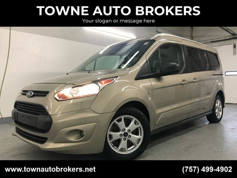 2016 Ford Transit Connect Wagon for sale at TOWNE AUTO BROKERS in Virginia Beach VA