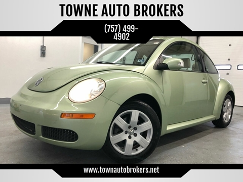 2006 Volkswagen New Beetle for sale at TOWNE AUTO BROKERS in Virginia Beach VA