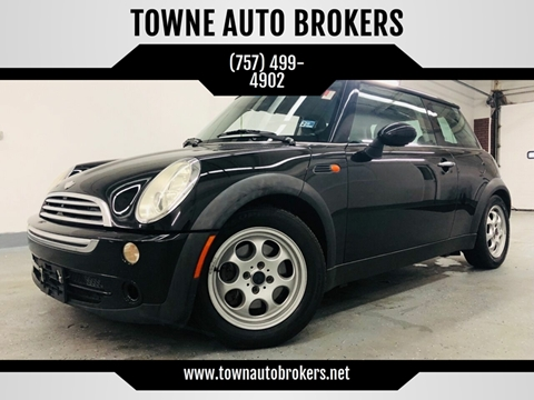 2005 MINI Cooper for sale at TOWNE AUTO BROKERS in Virginia Beach VA