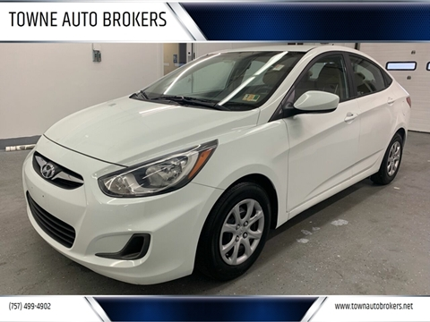 2014 Hyundai Accent for sale at TOWNE AUTO BROKERS in Virginia Beach VA
