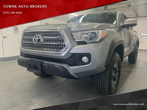 2016 Toyota Tacoma for sale at TOWNE AUTO BROKERS in Virginia Beach VA