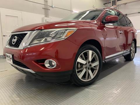2014 Nissan Pathfinder for sale at TOWNE AUTO BROKERS in Virginia Beach VA
