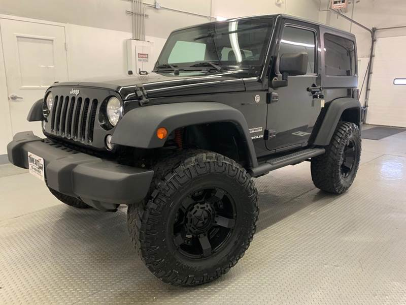 2014 Jeep Wrangler for sale at TOWNE AUTO BROKERS in Virginia Beach VA