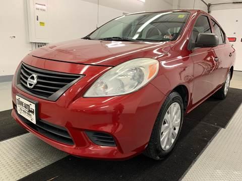 2014 Nissan Versa for sale at TOWNE AUTO BROKERS in Virginia Beach VA