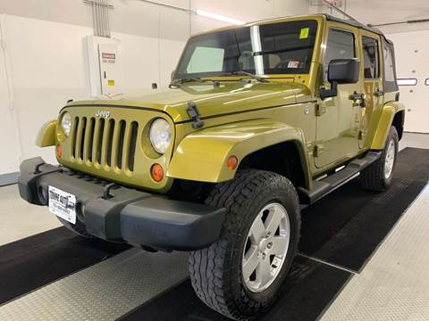2007 Jeep Wrangler Unlimited for sale at TOWNE AUTO BROKERS in Virginia Beach VA