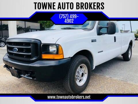 1999 Ford F-250 Super Duty for sale at TOWNE AUTO BROKERS in Virginia Beach VA