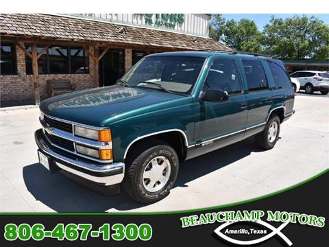 1995 Chevrolet Tahoe for sale in Amarillo, TX