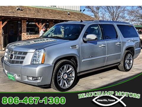 2013 Cadillac Escalade ESV for sale in Amarillo, TX