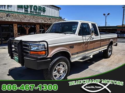 1995 Ford F-250 for sale in Amarillo, TX