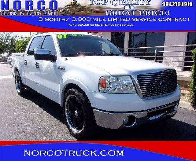 2007 Ford F-150 Lariat 4dr SuperCrew Styleside 5.5 ft. SB - Norco CA