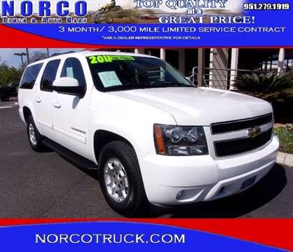 2011 Chevrolet Suburban for sale in Norco, CA