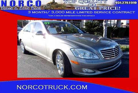 2007 Mercedes-Benz S-Class for sale in Norco, CA