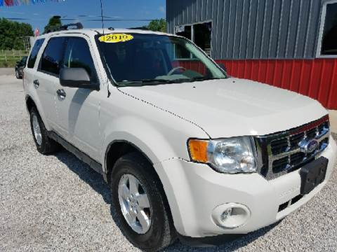 2010 Ford Escape for sale at MAIN STREET AUTO SALES INC in Austin IN