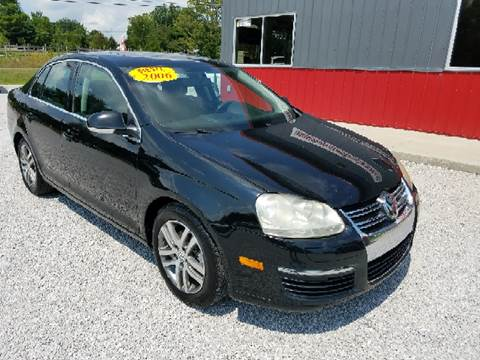 2006 Volkswagen Jetta for sale at MAIN STREET AUTO SALES INC in Austin IN