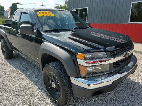2006 Chevrolet Colorado for sale at MAIN STREET AUTO SALES INC in Austin IN
