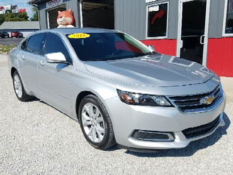 2016 Chevrolet Impala for sale at MAIN STREET AUTO SALES INC in Austin IN