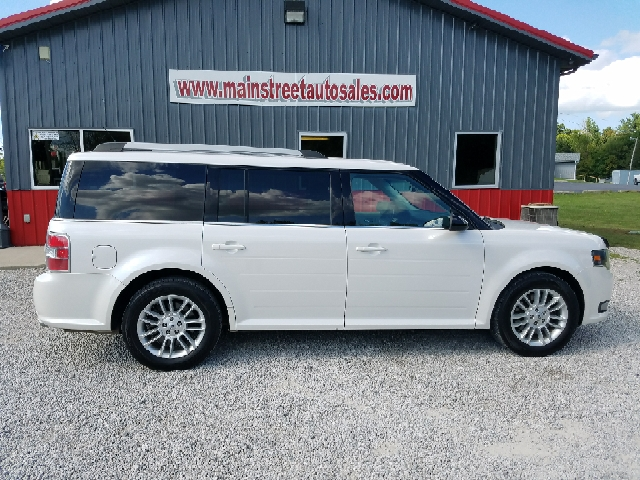 2013 Ford Flex for sale at MAIN STREET AUTO SALES INC in Austin IN