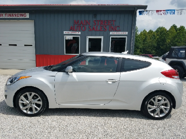 2016 Hyundai Veloster for sale at MAIN STREET AUTO SALES INC in Austin IN