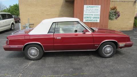 1984 Chrysler Le Baron for sale in Waldo, WI