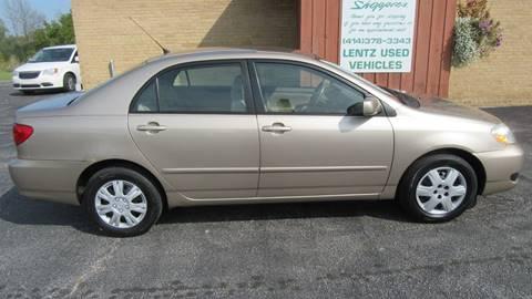 2006 Toyota Corolla for sale in Waldo, WI