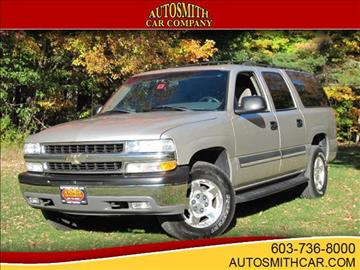 2004 Chevrolet Suburban for sale at Autosmith Car Co in Epsom NH